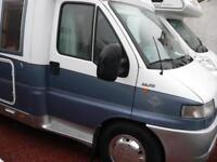 Fiat DUCATO Hobby 4 Berth Motorhome only 78000 miles
