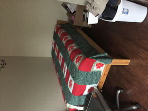 Twin bed and 2 mattress excellent condition