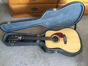 Norman B20 12 string Guitar with Case
