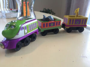 Trains en bois Chuggington