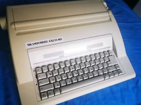 Typewriter Electronic Silvereed New ribbon