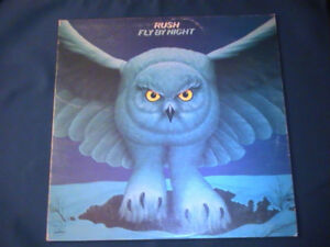 Nostalgic Cdn Rock 'N Roll LPs: Rush, The Guess Who, Lighthouse