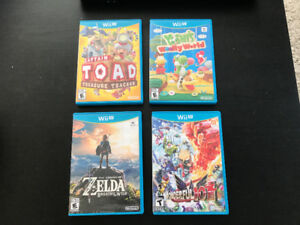 Wii U Games - Captain Toad, Wonderful 101 - prices reduced!