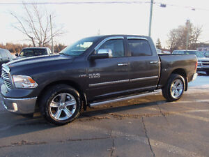 "2014 RAM 1500 CREW CAB BIG HORN !! 20""WHEELS !! BACKUP CAM !!"