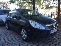 Vauxhall Corsa 1.3cdti in black *Very good MPG*