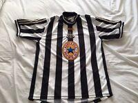 Newcastle United Adidas Shirt Rare Retro