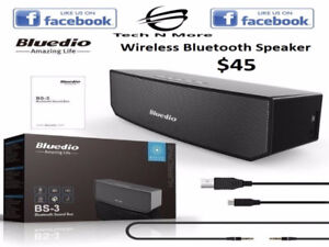 Bluedio BS-3 Wireless Bluetooth Speakers (3 Colors)
