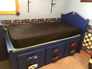 BOYS CAPTAINS BED AND DRESSER