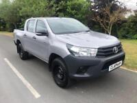 2016 66 TOYOTA HILUX 2.5D 4WD EURO 5 145 BHP 1 COMPANY OWNER ONLY 29000 MILES