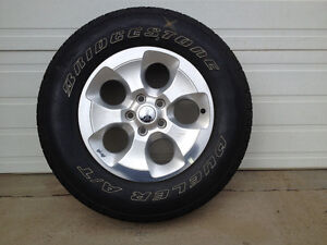 "18"" Jeep Wheels and tires Edmonton Edmonton Area image 1"