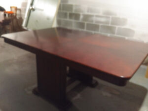 Solid Cherry table and chairs
