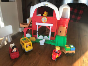 Fisher Price Ferme little people