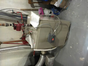 Kerr comet 145 oil fired hot water boiler
