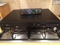Panasonic DVD VHS recorder
