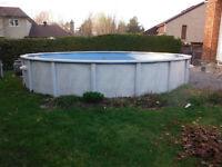 Piscine hors terre buy sell items tickets or tech in - Toile solaire piscine hors terre ...
