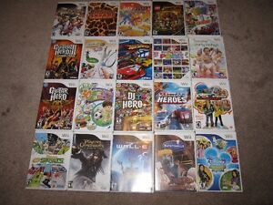 Nintendo Wii and 40 Games