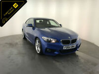 2014 64 BMW 218D M SPORT DIESEL COUPE 1 OWNER SERVICE HISTORY FINANCE PX WELCOME