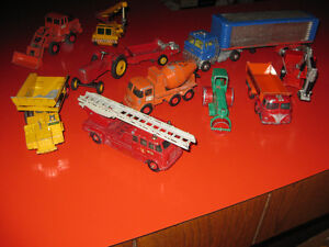 PLUSIEURS MATCHBOX DE COLLECTION KING SIZE - CORGI - DINKY TOYS