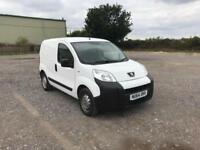 Peugeot Bipper 1.3 HDI 75 S PLUS PACK NON S/S EURO 5 DIESEL MANUAL WHITE (2014)