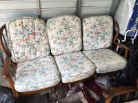 Conservatory sofa 3 piece suite