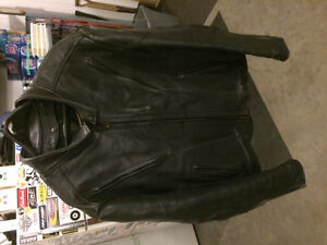 XL LEATHER MOTORCYCLE JACKET