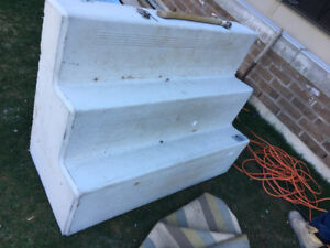 1 year old concrete stairs for sale!