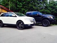 Ford Edge AWD -Fully Loaded-  w/ 22's and 18's only 100,xxx km!!