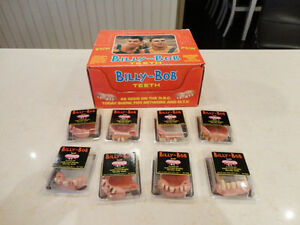 Original Billy Bob Fake Teeth Sets - Brand New - Funny As Heck