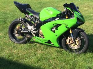 Kawasaki zx6r ninja