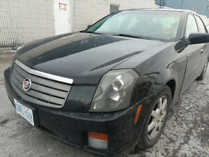 2005 Cadillac CTS Sedan Safety test pasted