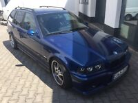 BMW E36 323i sport touring manual LHD