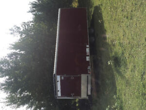 2013, 24ft Snow King trailer for sale in Hinton AB.