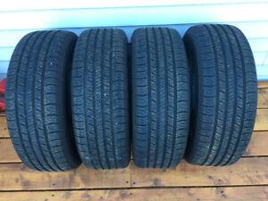 Set of 4 GoodYear Assurance all season tires P/195/60-R15