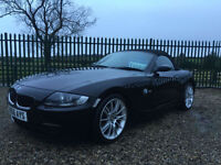 56 BMW Z4 2.0i SE ROADSTER BLACK 50150 MILES FSH LAST OWNER 8 YEARS VERY CLEAN