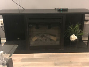 TV Stand / Electric fireplace.