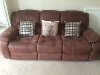 3&2 seater recliners