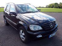 Mercedes ML270 CDI AUTO, TOWBAR, 7 SEATS, BLACK LESTHER