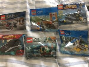 Lego Polybags: Harry Potter, Batman, City, Jurassic World