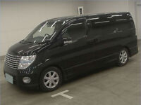 2007 (07) NISSAN ELGRAND 4WD 4x4 Highway Star 3.5 V6 Auto Black Leather Alphard