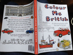 Colour Me British - Colour everything British!  Great gift.