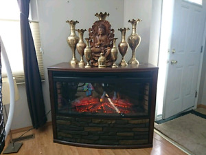 Electric fireplace ! Great deal !