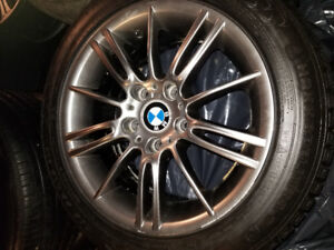 """BMW mags and winter tires 16"""""""