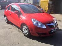 58 2008 Vauxhall Corsa 1.0i 12v Life , ONLY 63070 MILES, WARRANTY, SPARE KEY