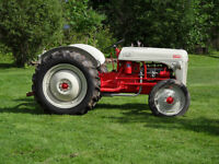 Restored Antique Ford 8N Tractor