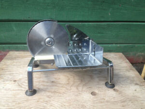 Vintage hand crank meat/ cheese slicer