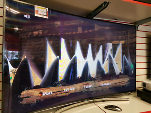 "Television Samsung 55"" curve"