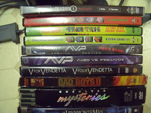 23 DVDs