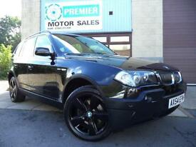 2004 (54) BMW X3 3.0i M SPORT AUTO, FULL LEATHER, CRUISE, PARKING SENSORS.