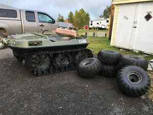2000 Argo with 6 Tires and Tracks included