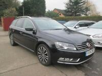2014 VW Passat Estate 2.0 Tdi Sport Blumotion, Black, NAV